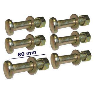 180004 x 8 Massey Ferguson Radmutter 35 135 148 Heck Pack 8